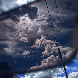 glasses clouds shippingyard cap photography