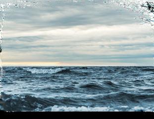 waves sky cloud water background freetoedit