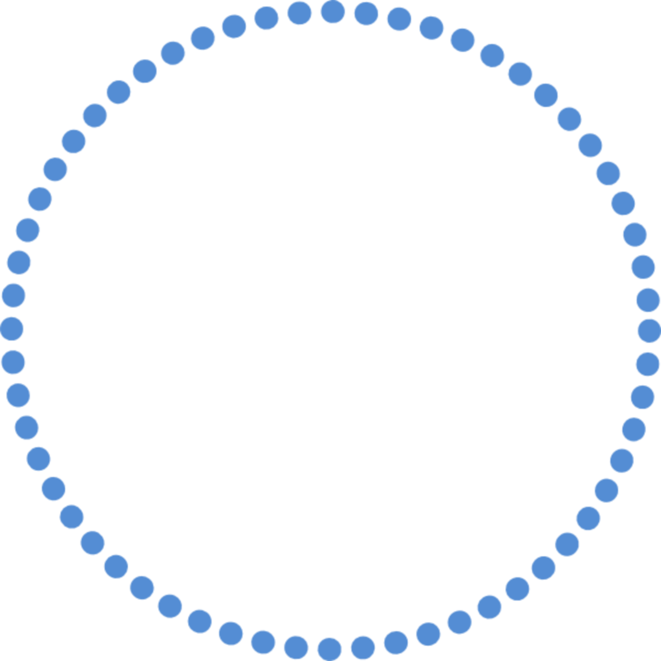 Картинка круг по точкам