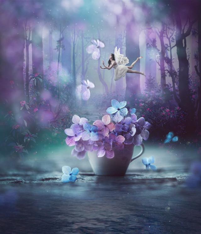 #freetoedit  #magic   #imagination  #fairy  #myedit