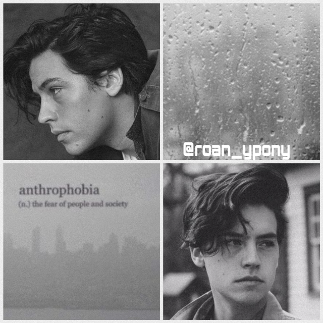 #colesprouse #riverdale #gray #aesthetic #grayaesthetic #sad #tumblr #rain #cute