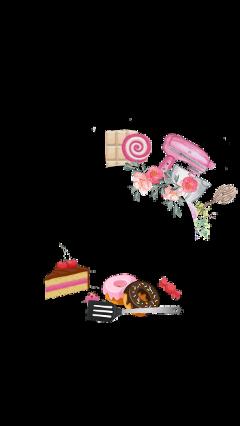 fame cakeframe dessert logo flowers freetoedit