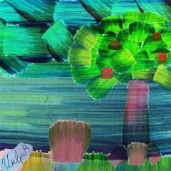 freetoedit pcbeautifulbirthmarks artistic artesania artesanal srcgreenbrushstroke