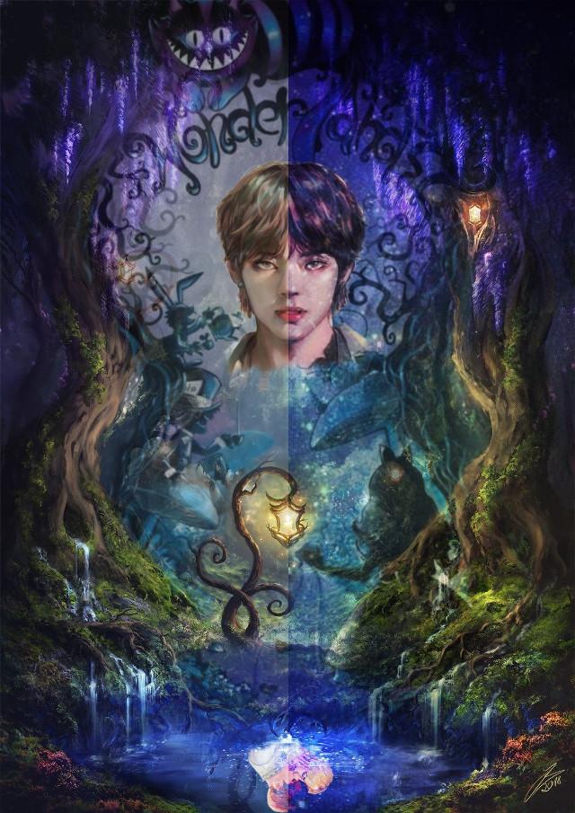 #Wattpadcover #bts #vkook #tae #jungkook #fantasy #wonderland
