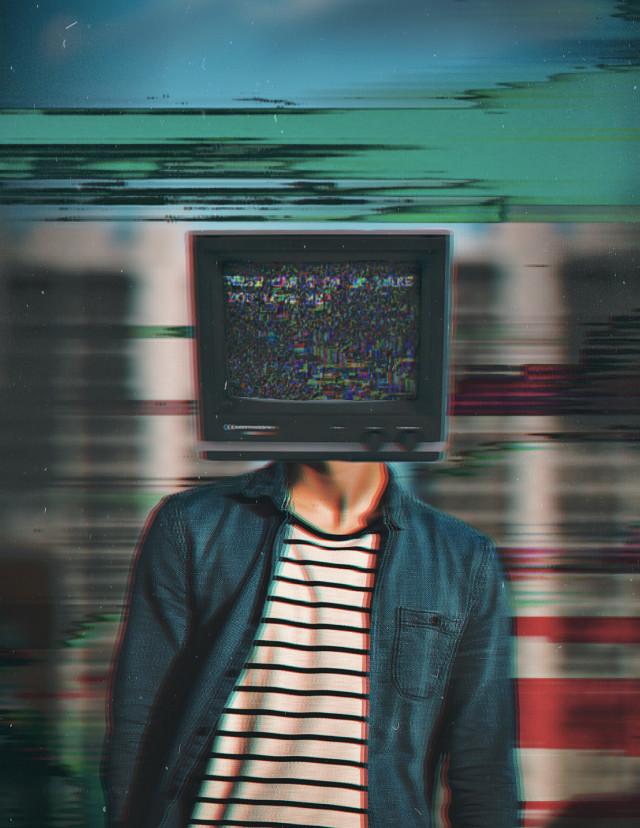 #freetoedit #person #vhs #person #tv #glitch #face #screen @picsart