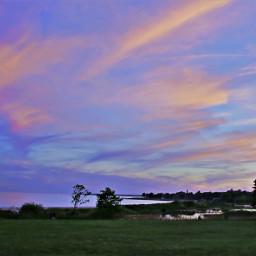 freetoedit naturaleza colorfulsky waterview sunsetsky