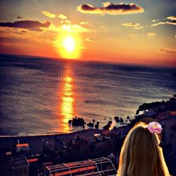 freetoedit myedit myfoto tramonto mare ircgoldenhour