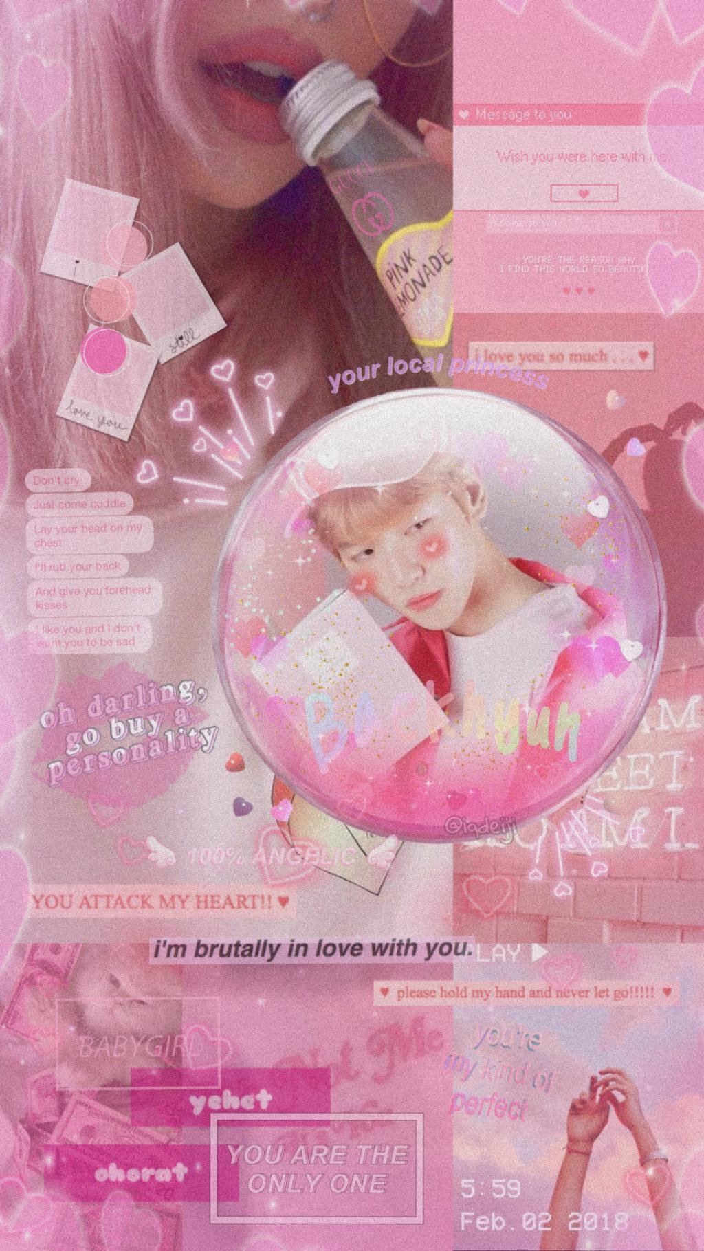 Baekhyun Exo Kpop Wallpaper Kpopwallpaper Exowallpaper