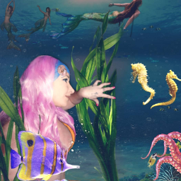 mermaidlife underwater sea artistoninstagram followmeplz