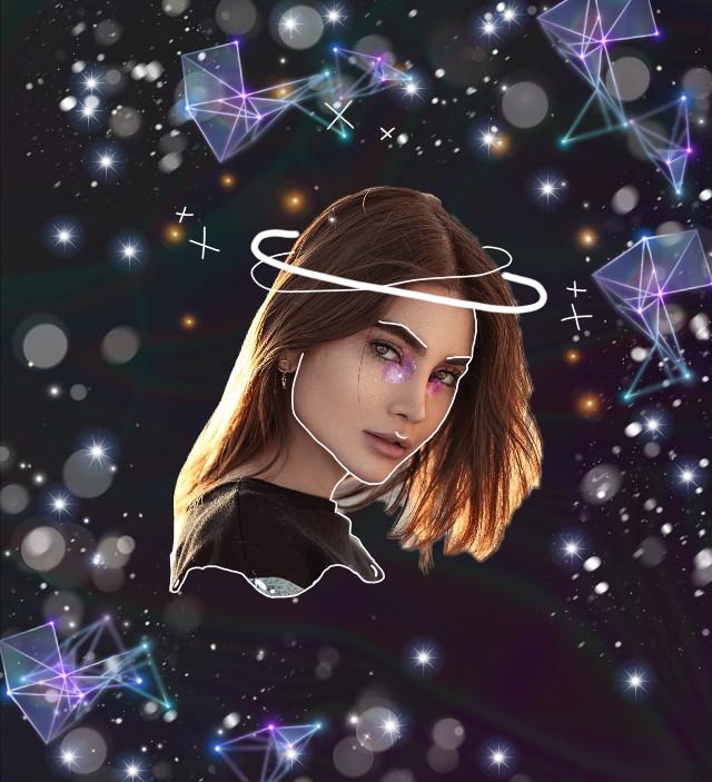#freetoedit #girl #galaxy #beautiful #color #pleaselike #fy #foryou