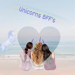 unicorn bffs freetoedit