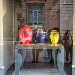 reflections showcase art ceramics faenza