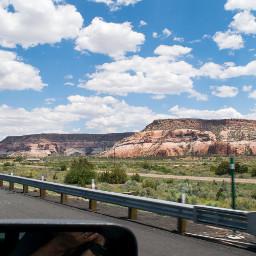 roadtrip ontheroad landscape freetoedit sky
