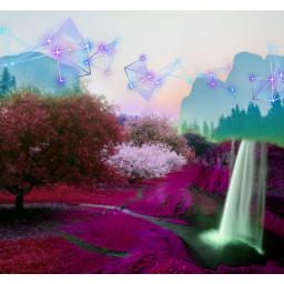 freetoedit landscape collage surreal fanartofkai