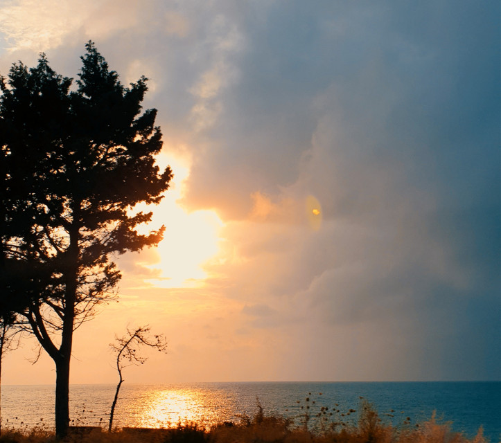 Happy sunday to all☀️😎  #photography #homeland #turkey #sunset  #freetoedit #remixit @picsart