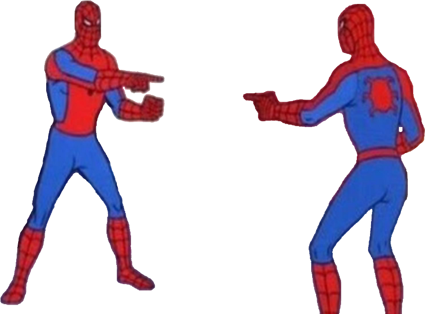 #meme #spiderman #memez #memes #yeet #spiderman #copycat