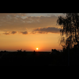 sungoesdown sunset colorfulsunsets selfmade canonphotography
