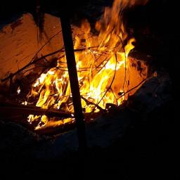 ogień ognisko