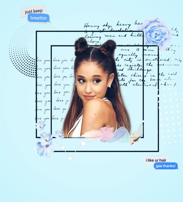 Happy Birthday Ari 😭💘~~ Queen of pop 💎💘💘 #freetoedit #arianagrande #ariana #ari #queen #queenofpop #happybirthday #angel #baby #iloveyou #love #blue #background #qoutes #flowers #pop #26years #7rings #thankunext #music #cute #girl #be_creative #like #plzlike