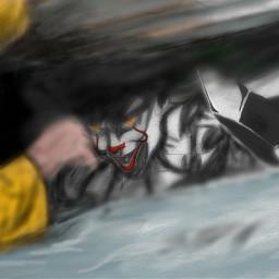 freetoedit drawn drawning it clown dcclowns dcclown