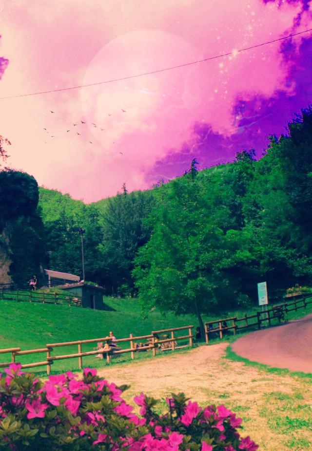 #freetoedit #myedit #madewithpicsart #landscape #lightcrosseffect #coloreffect  @picsart @freetoedit