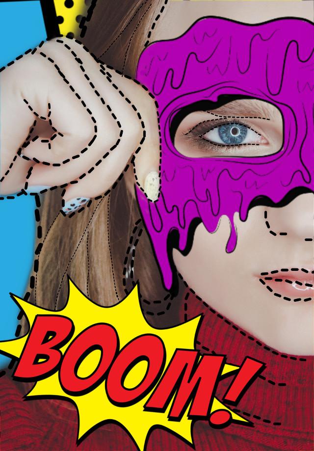 #freetoedit #comicstyle #comiceffect #comicbook #superhero #superwoman