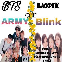 bts blackpink army blink freetoedit