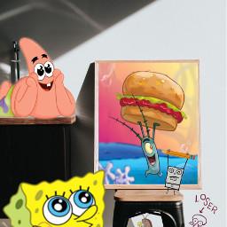 freetoedit spongebob spongebobsquarepants spongebobandpatrick ircremixboard