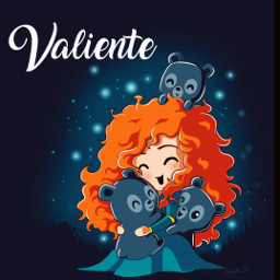 freetoedit illustration ai valiente merida