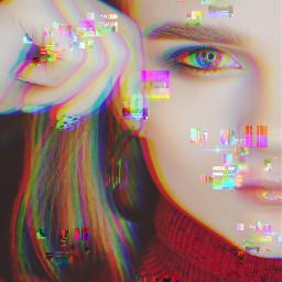 freetoedit glitch madewithpicsart glitchbrush be_creative