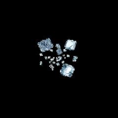 icecube ice cube blue freetoedit