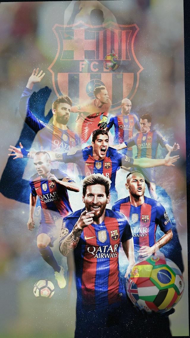 #freetoedit #barcelona #football #players #footballplayers #ball #goal #messi #neymar #suarez