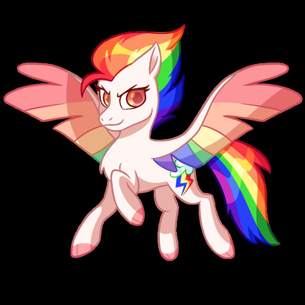 mlp my little pony rainbow dash new gen g5 white pegasu