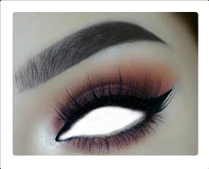 eye makeup lashes stickers freetoedit