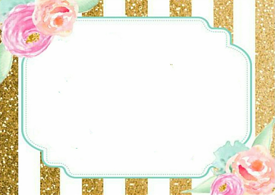 #invitation #card #rsvp #blank #specialoccasion #birthday #babyshower #mimosabar #sprinkle #mint #gold #pink #glitter #stripes #watercolor #floral #flowers #border #frame #badge #Jesus @stephaniejordan53  #freetoedit