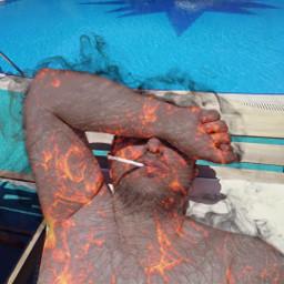 freetoedit onfire fireman hotman fire