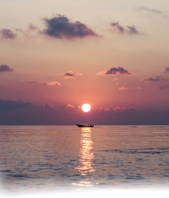 freesticker overlay blend sunset shoreline freetoedit