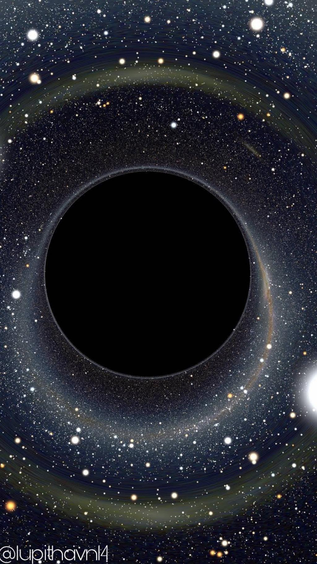 Space Galaxy Circle Wallpaper Wallpaperiphone Wallpaper