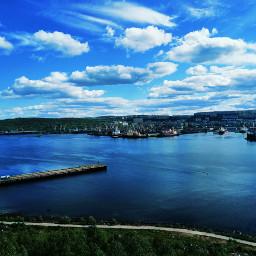 freetoedit panorama sun sea bay