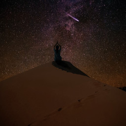 freetoedit milkyway meditation desert desertsafari