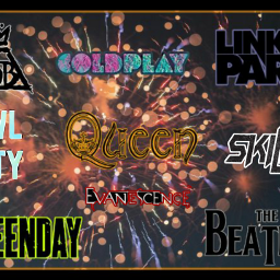 freetoedit favouritebands coldplay queen skillet