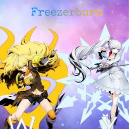 freetoedit rwby rwby_weiss rwby_yang freezerburn