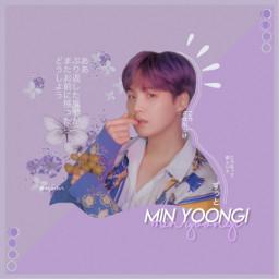 yoongi suga purple myedit bts freetoedit