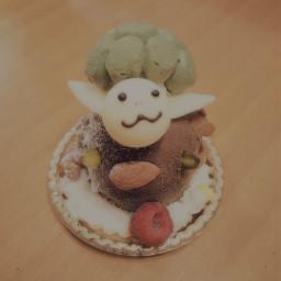カメ ケーキ cake birthday birthdaycake