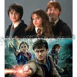 harrypotter hermionegranger ronweasley harrypotterandthephilosphersstone harrypotterandthedealthyhallows