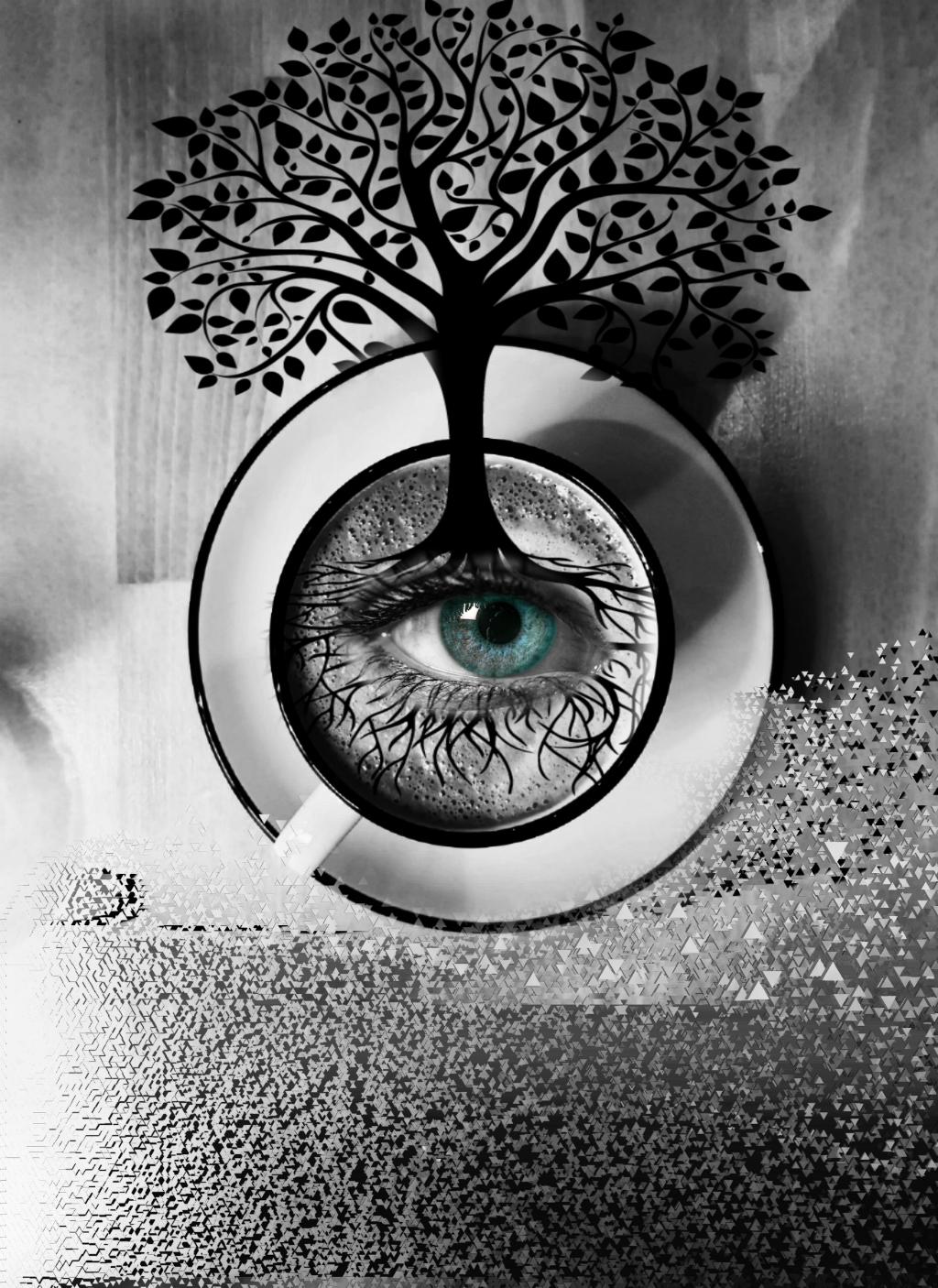 #freetoedit #dispersiontool #treeoflife  #irccoffeetime #coffeetime #blackandwhite