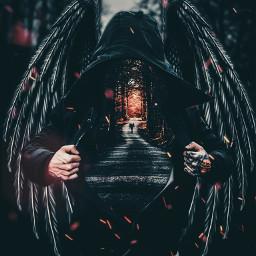 wickedangel darkart walkway nooneman freetoedit