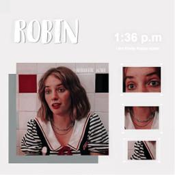 robin mayahawke strangerthings strangerthing3 strangerthingsrobin