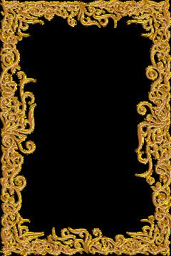 freetoedit frame ornate golden gold