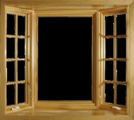 ftestickers window openwindow wooden freetoedit